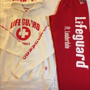 """Other - New Fort Lauderdale """"Lifeguard"""" Sweat Suit"""